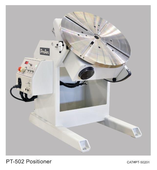 500KG Welding positioner turn table, TIG MIG welding - ProArc PT-500 series