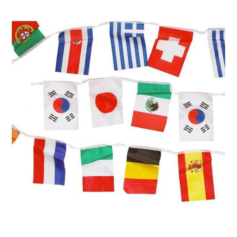 Guirlande drapeaux - Drapeaux publicitaires et oriflamme