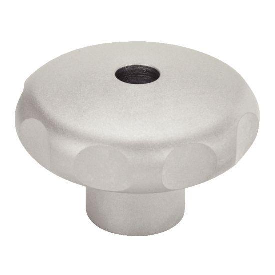 Bouton étoile - inox 303 mat ou poli