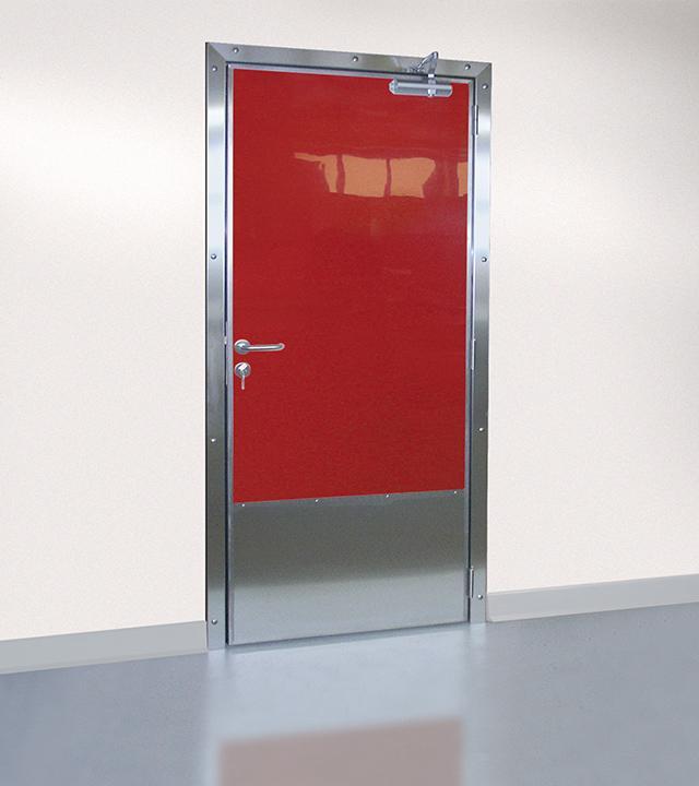 Porte semi-isotherme de service SP100 - Portes pour l'agroalimentaire