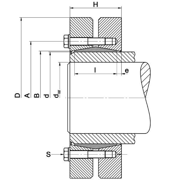 TAS-3091 Heavy-Range - Shrink Discs 3-part