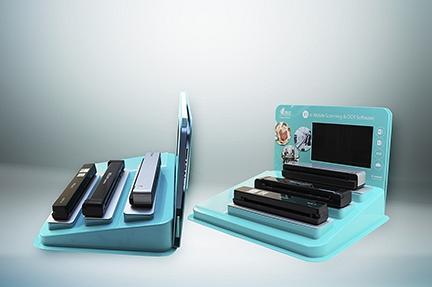 Présentoirs - Plateau pour pralines - Promotion - Vanity-kit hôtel - Présentoir scanner Iris