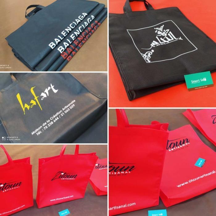Sac Shopping - Sac boutique sac commerçant sac livraison sac chaussure sac évènementielle