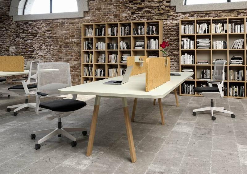 Bureaux Alea Atreo Wood - Postes de travail