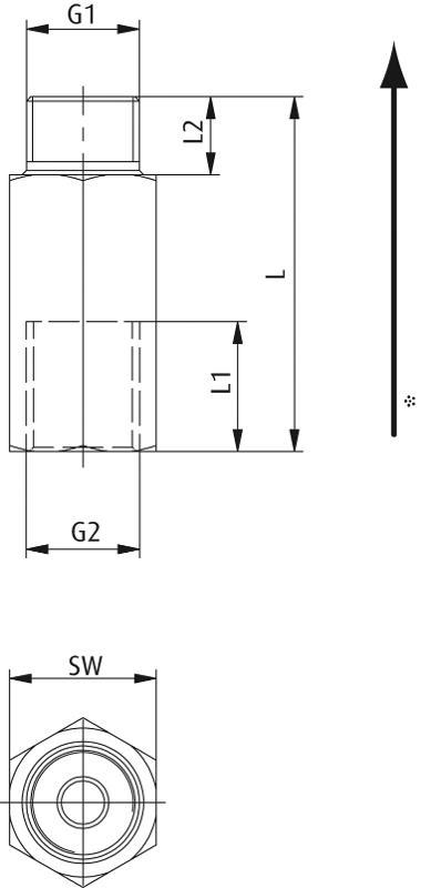 Strömungsventile mit Strömungsstift ohne Leckverlust - null