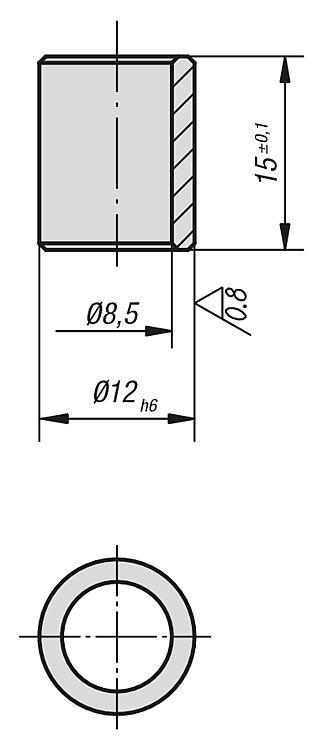 Douille de centrage - Éléments de positionnement