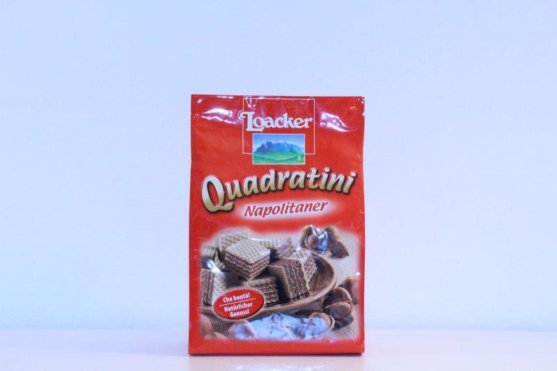 Loackers Quadratini Napolitaner -