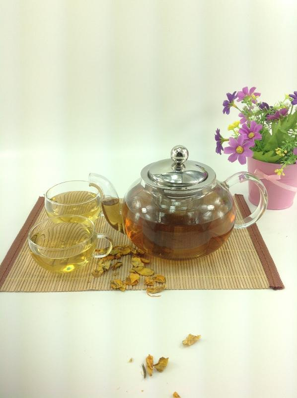 GLASS TEAPOT  - 600ML