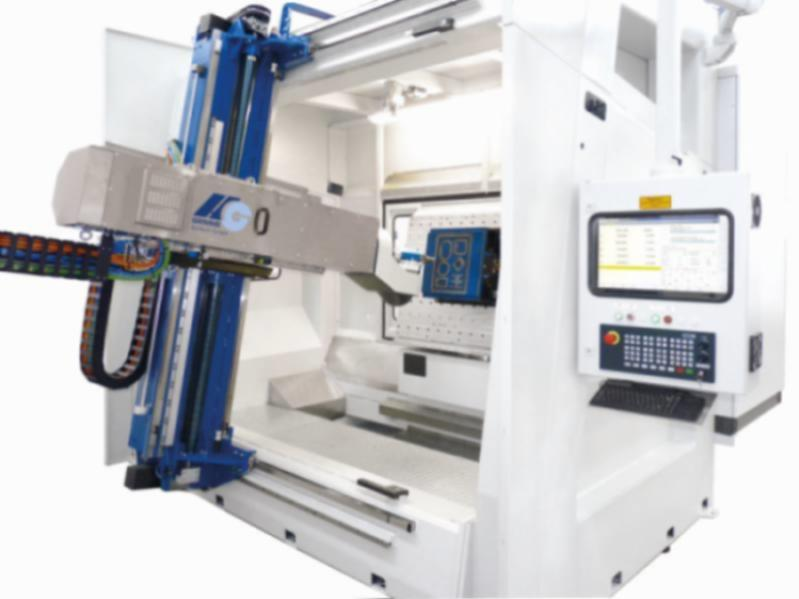 HG 5-axis-Gantry-Rotary-Table Milling Machine/INCLINED BED