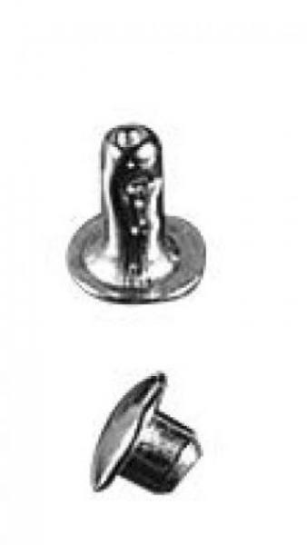 Rivet tubulaire petit modèle en boite de 1000 - Rivet33FN8mm
