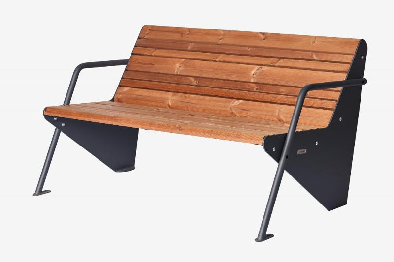 Bench «Boomerang» - Benches and sun loungers