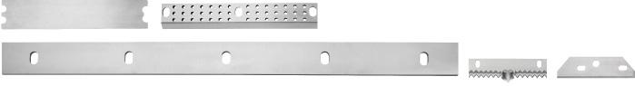 Paper and hygienic knives - Cross-cutter knives