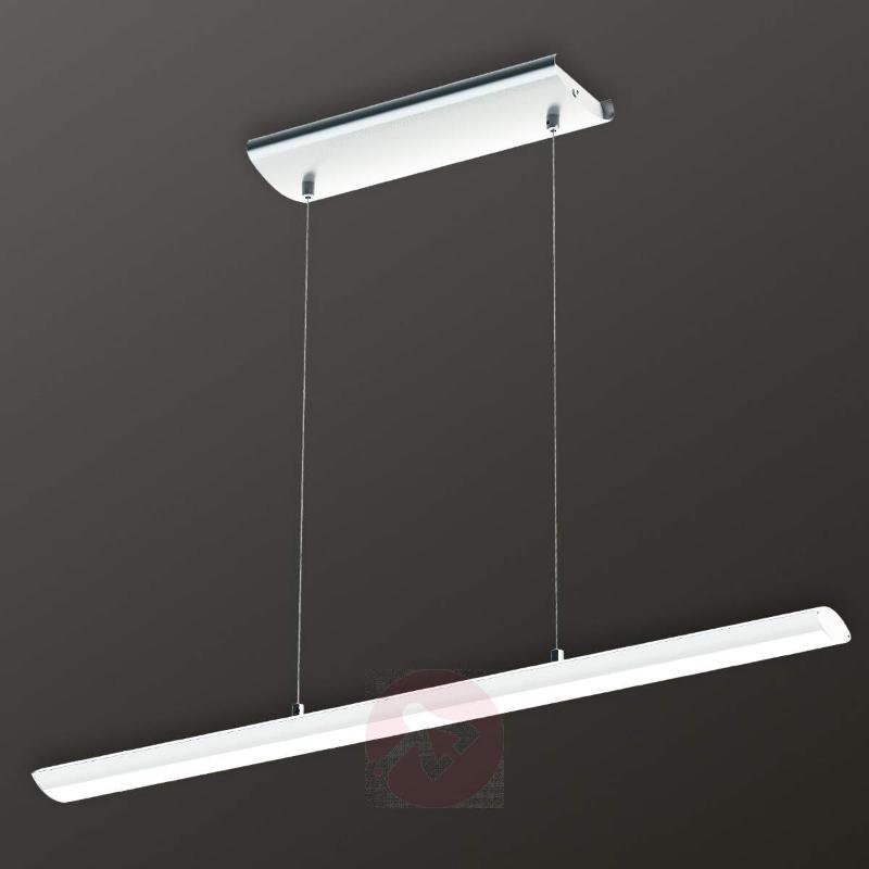 White Pellaro LED hanging light with dimmer - Pendant Lighting