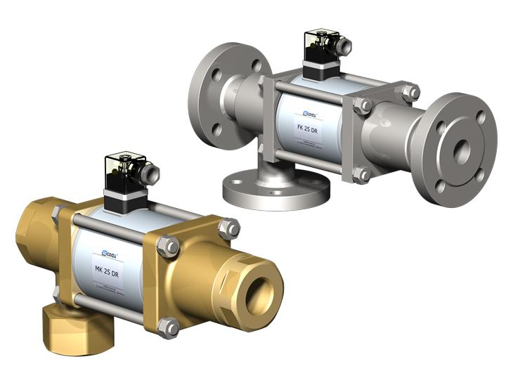 Co-ax Mk | Fk Dr Solenoid Valves - 3/2 Way coaxial direct acting valves