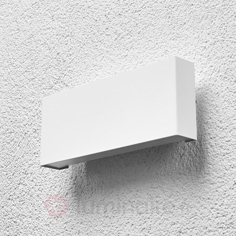 Safira - applique d'extérieur LED en blanc - Appliques d'extérieur LED