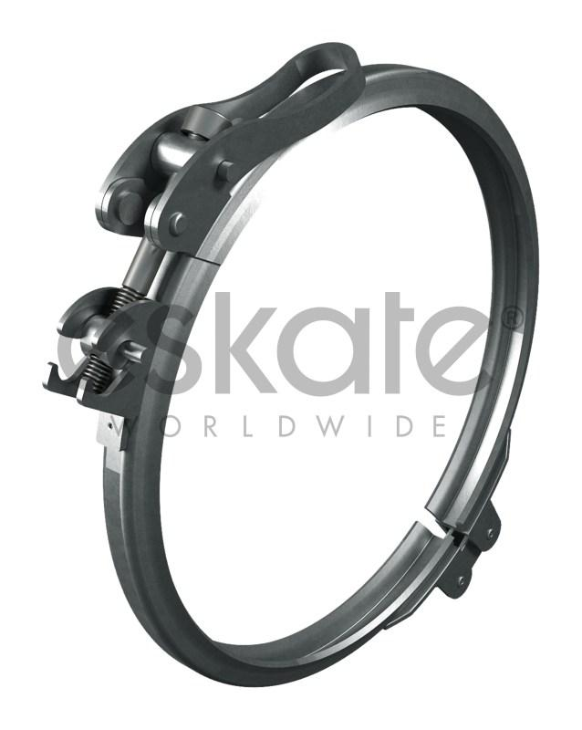 Quick-lock clamping-ring - Quick-lock clamping-rings to be used with a sealing ring