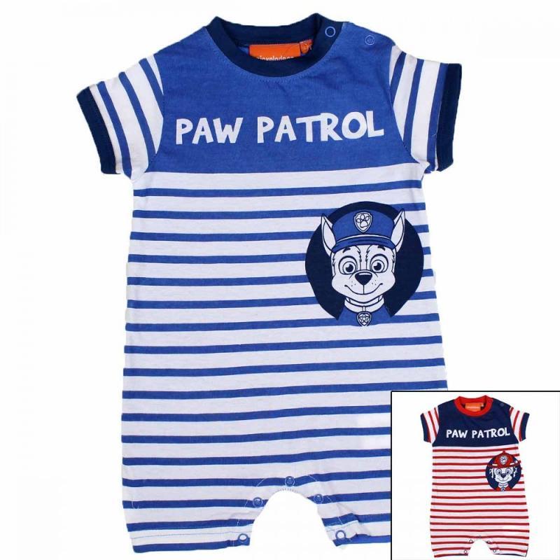 8x Combishorts Paw Patrol du 3 au 18 mois - Vêtement été