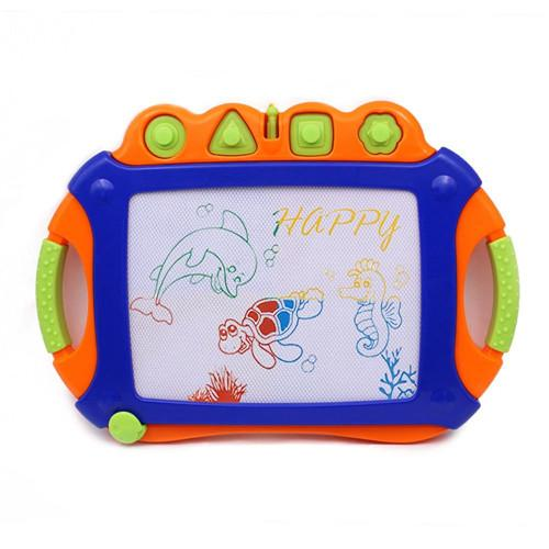 Plastic kids drawing board