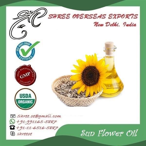 Organic Sun Flower Oil