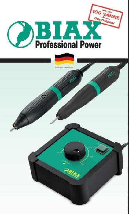 Micro grinder - foot switch dynamic SEFD 50 - Speed range: 1.000 - 50.000 rpm