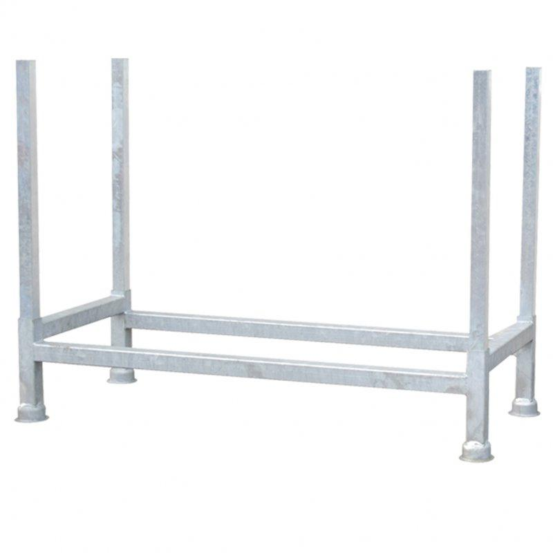 Stackable pallet - Stackable pallet for universal use for the storage of long goods