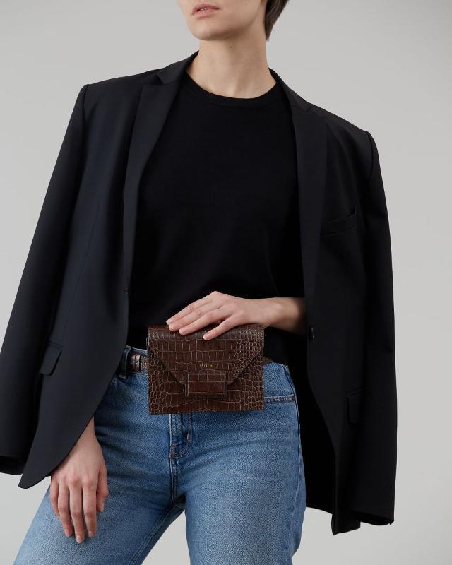 Waist Bag / Crossbody Dark Chocolate - ARTICLES