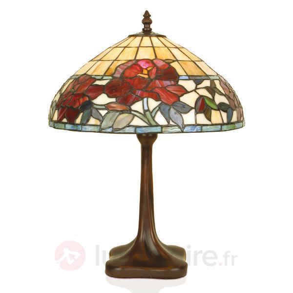 Lampe à poser FINNA fabriquée à la main - Lampes à poser style Tiffany