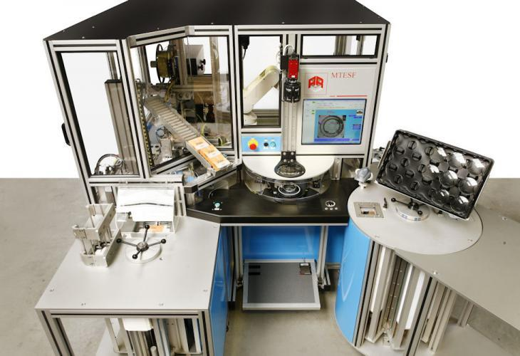Semi-Automatic Pad Printing and Packaging Unit for SF Lenses - Semi-finished Packaging