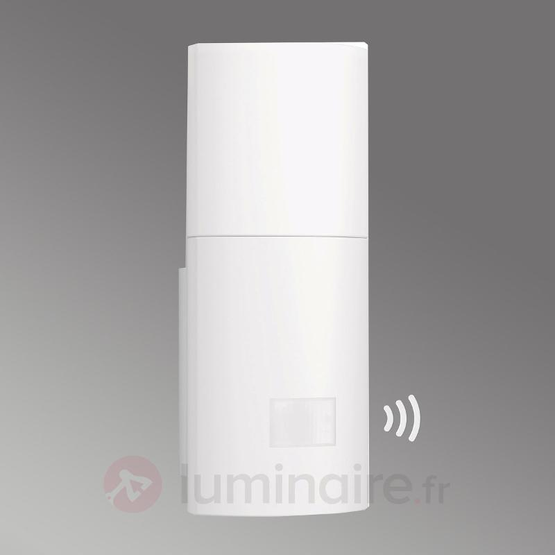 Applique ext. LED à capteur efficace L900, blanc - Appliques d'extérieur avec détecteur
