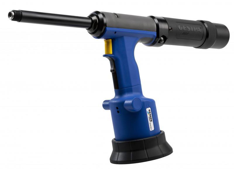 TAURUS® 1 Speed Rivet (Remachadora neumático-hidráulica) - La remachadora neumático- hidráulica con cartucho y breve tiempo de ciclo