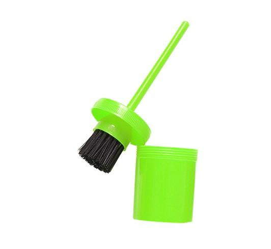 26×6 cm horse hoof oil brush for hoof care/horse - horse hoof oil brush with plastic handle for hoof care/horse grooming products