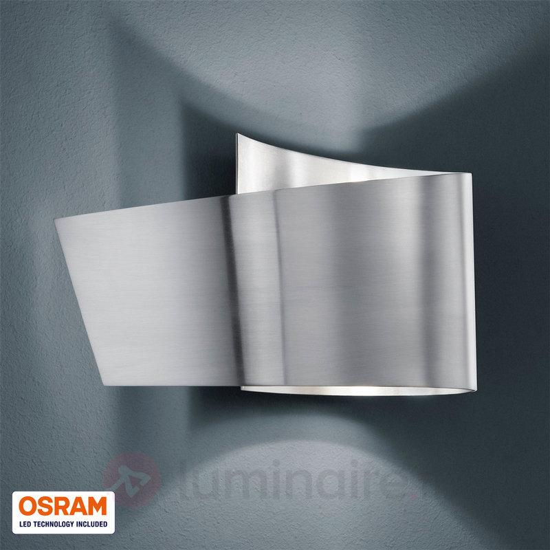 Applique Tobi nickel mat IP44 - Salle de bains et miroirs