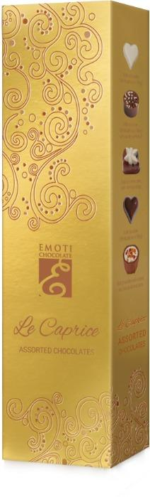 EMOTI Assorted Chocolates, GOLD 65g. SKU: 015286 -