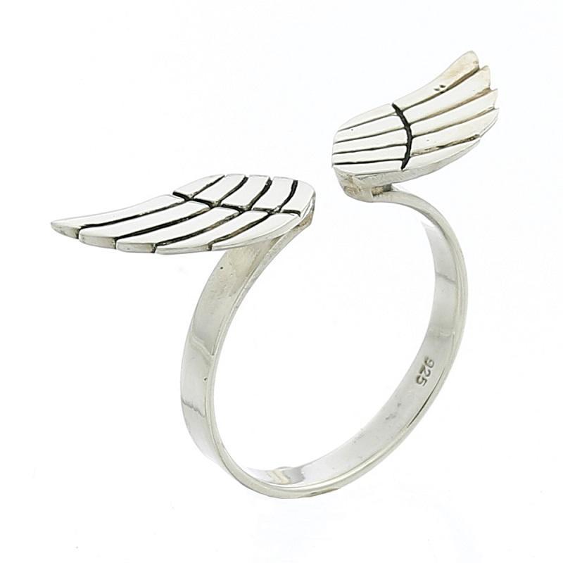 Anillo Alas de Angel en Plata de Ley 925