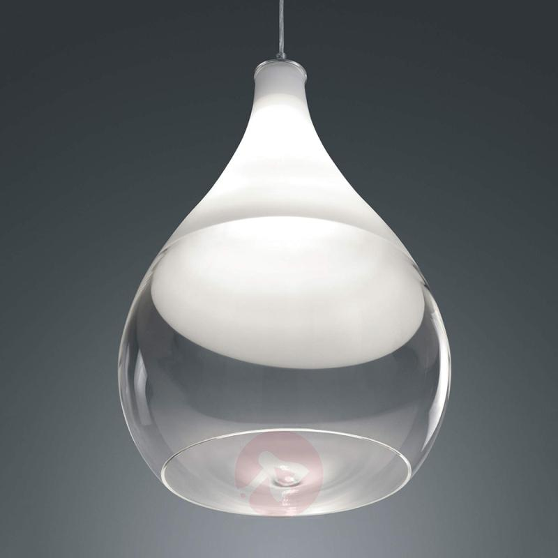 Pendant light Kingston with glass lampshade - indoor-lighting