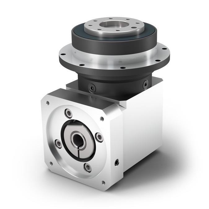 Right Angle Planetary Gearbox WPLFE - Economy Gearbox with Output Flange - Spur gear - Bevel gear right angle stage