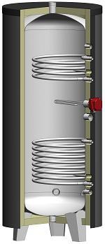 Chauffe-eau solaire  - série MIXTHERM version INOX