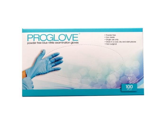 PROGLOVE NITRILE EXAMINATION GLOVES - Nitril examination gloves