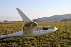 Planeur de classe course SZD-56-2 Diana-2 - Ce monoplace de compétition est l'arme ultime en classe 15 m.