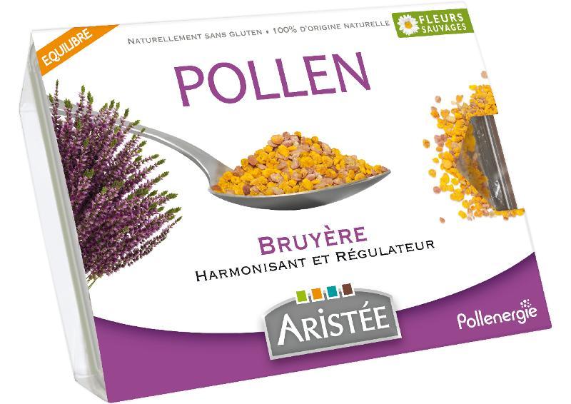 Pollen bruyère - Biologiques et surgelés