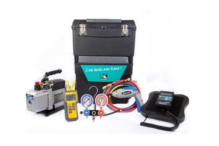 Ensemble en servante pour contrôle de climatisation  - ECVC-60090