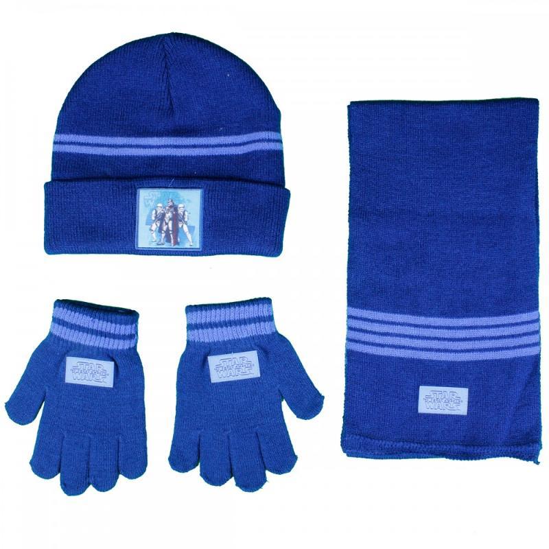 3x Echarpes et bonnets et gants Star Wars - Bonnet Gant Echarpe