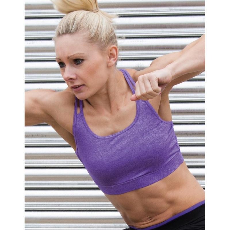 Haut court Fitness femme - Hauts manches courtes