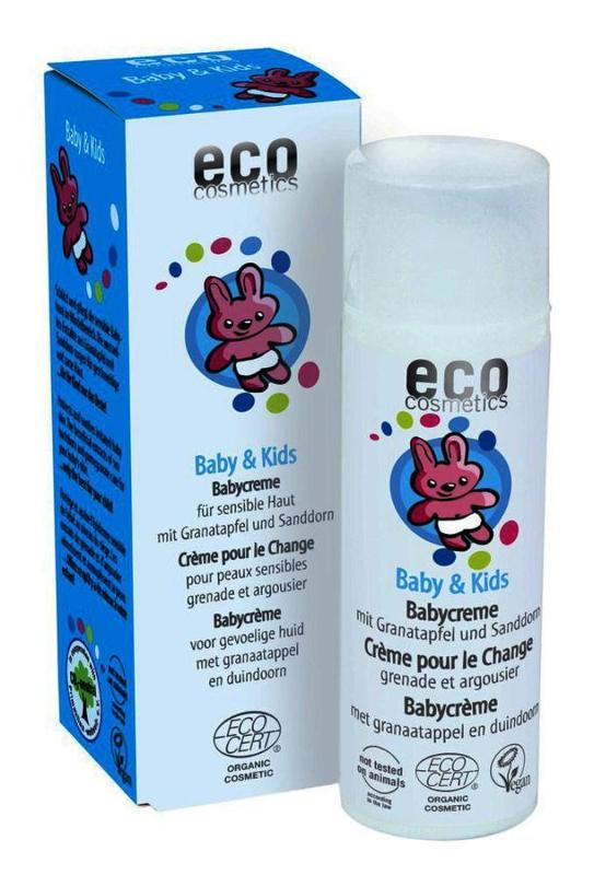 ECO Baby & Kids Creme 50ml mit Granatapfel und Sanddorn - null