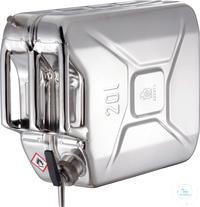 Canisters - Safety canister (20 liters) with self-closing tap and separate ventilation: 20KZ