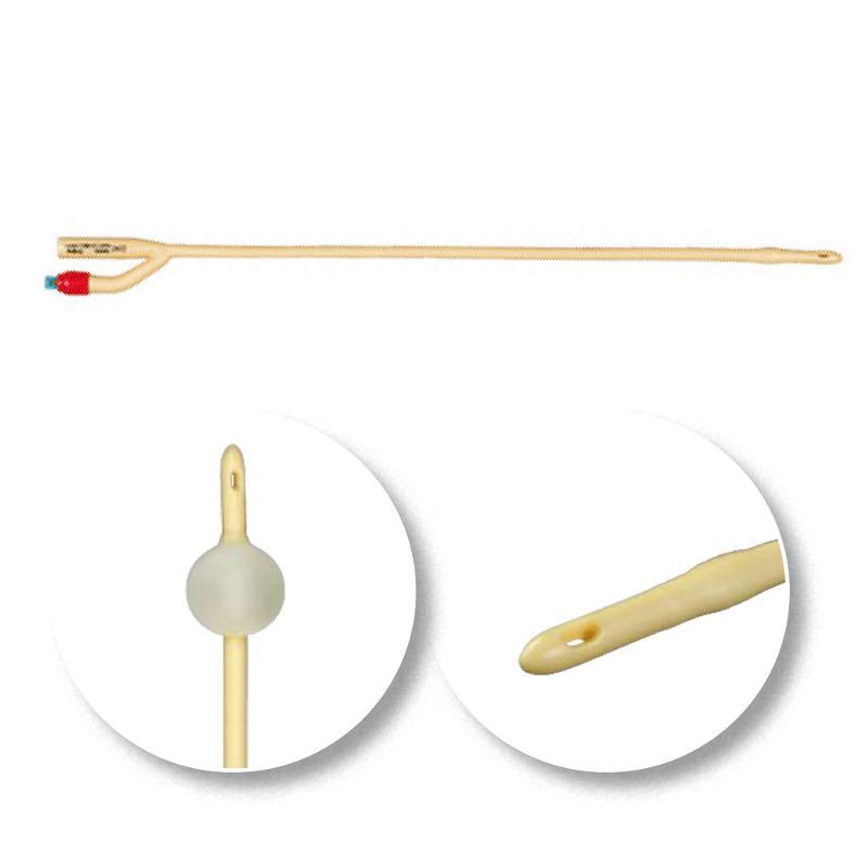 Latex Ballonkatheter CH 12, weiß, 10 Stück/Pack - Katheter
