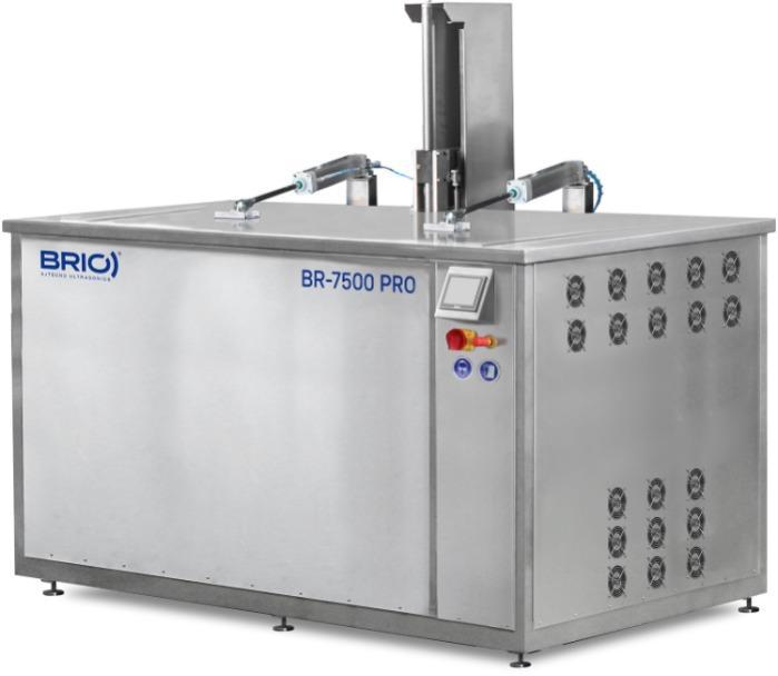 BR-7500 PRO - Máquina de limpieza por ultrasonidos automática de 7500 L