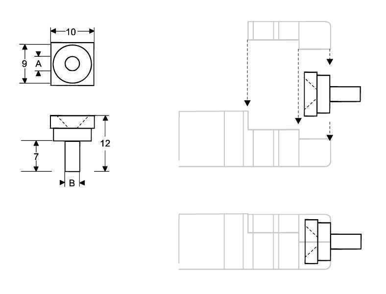 Crimp-insert - Accessories Standard