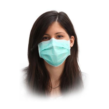 Mascherina chirurgica con elastici - null