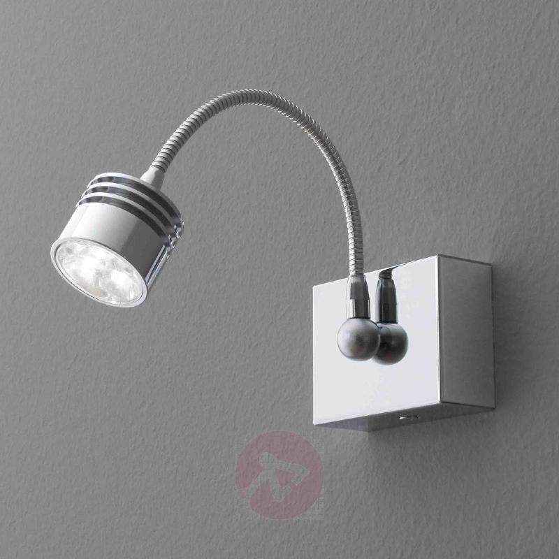 Chrome-plated LED wall light LOOK ME, 3.3 W - Wall Lights